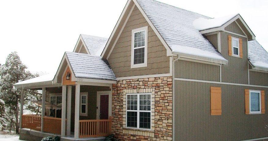 Типы наружной отделки стен дома и их реакция на повторное замораживание и оттаивание